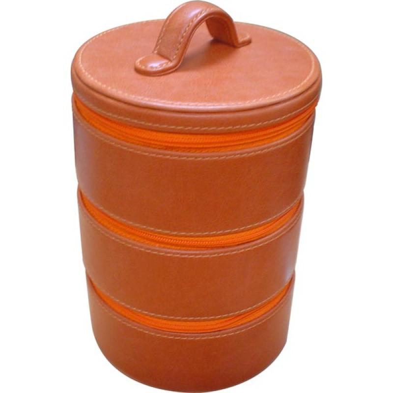 W0192 - กระเป๋าเก็บของ ทรงกระติก 3 ชั้น