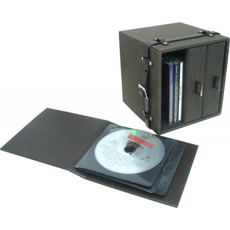 ซอง/กล่องเก็บ CD DVD หนังแท้หรือเทียม