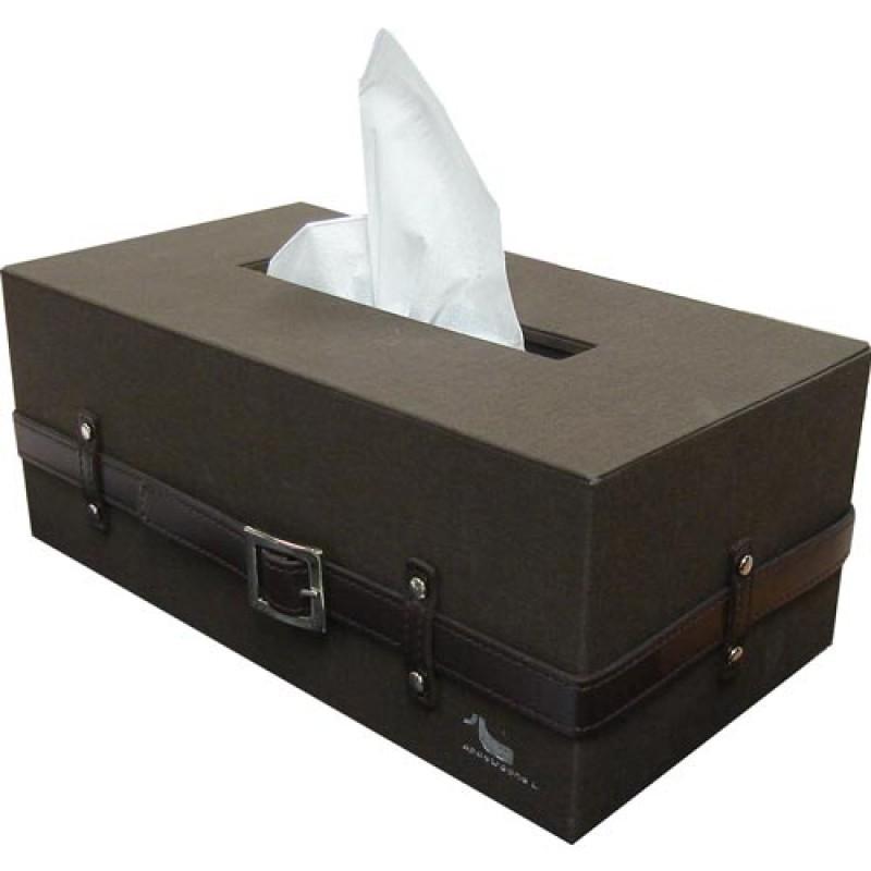 กล่องกระดาษทิชชู่สีดำ | Belt Me