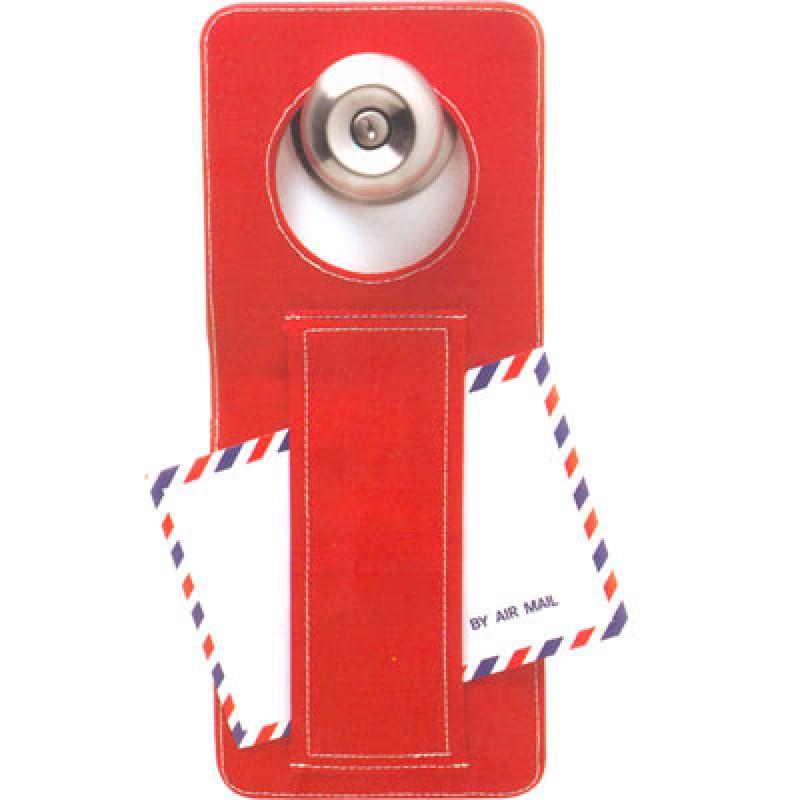 ป้ายพรีเมี่ยมแขวนประตู มีช่องใส่ของขนาดเล็ก