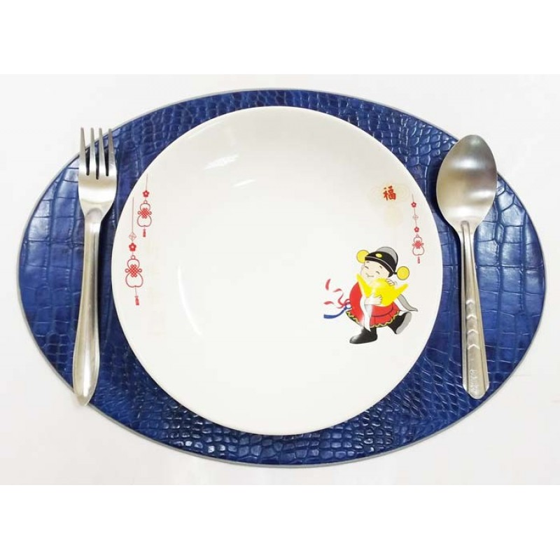 11952 faux crocodile place mat