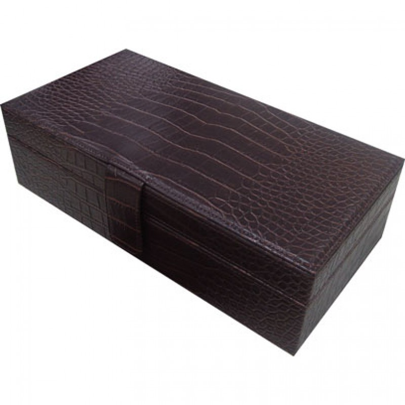 U714 Croco Jewelry Box