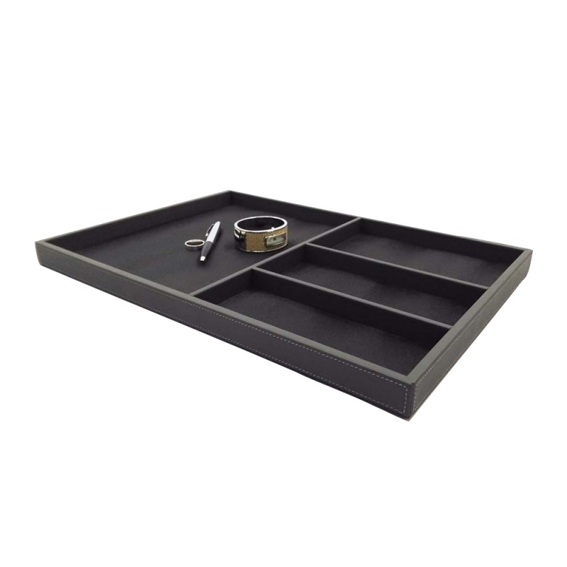 11301 accessories leather tray