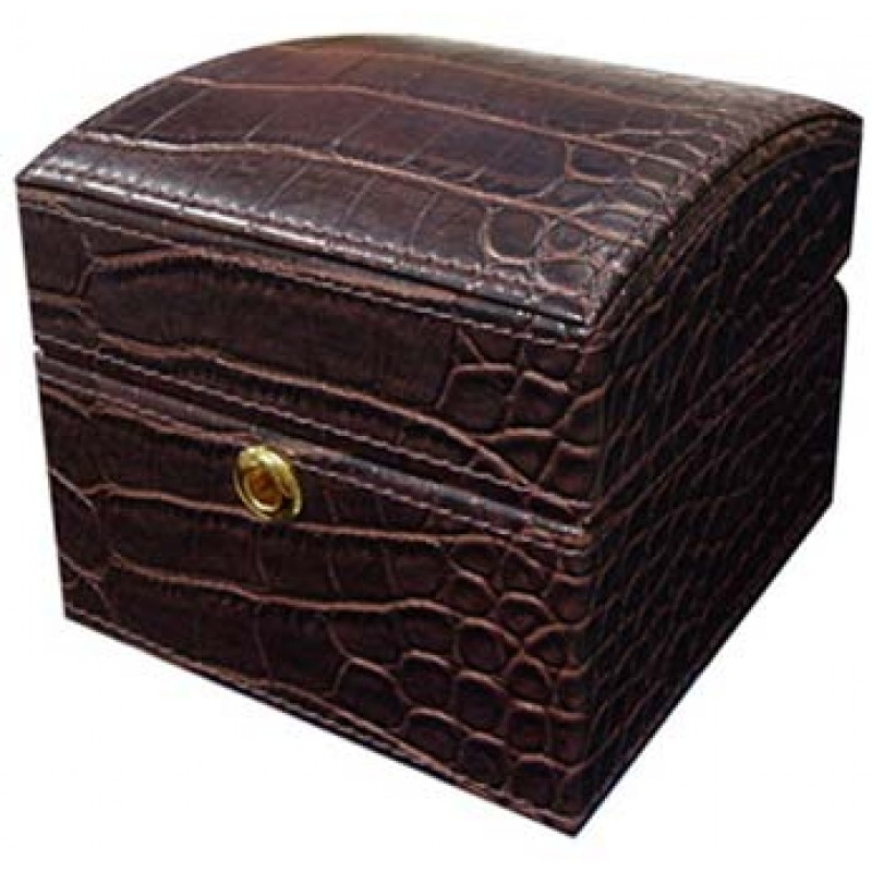 U933/2 faux crocodile jewelry box