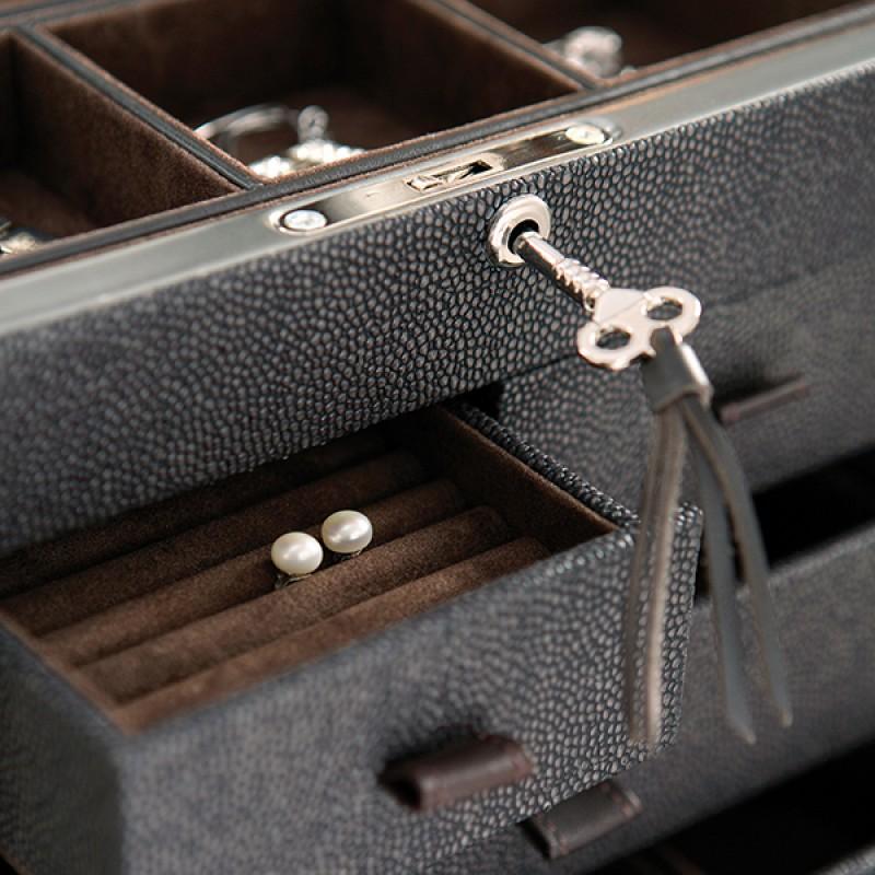 W0126 Faux Stingray Jewelry Box