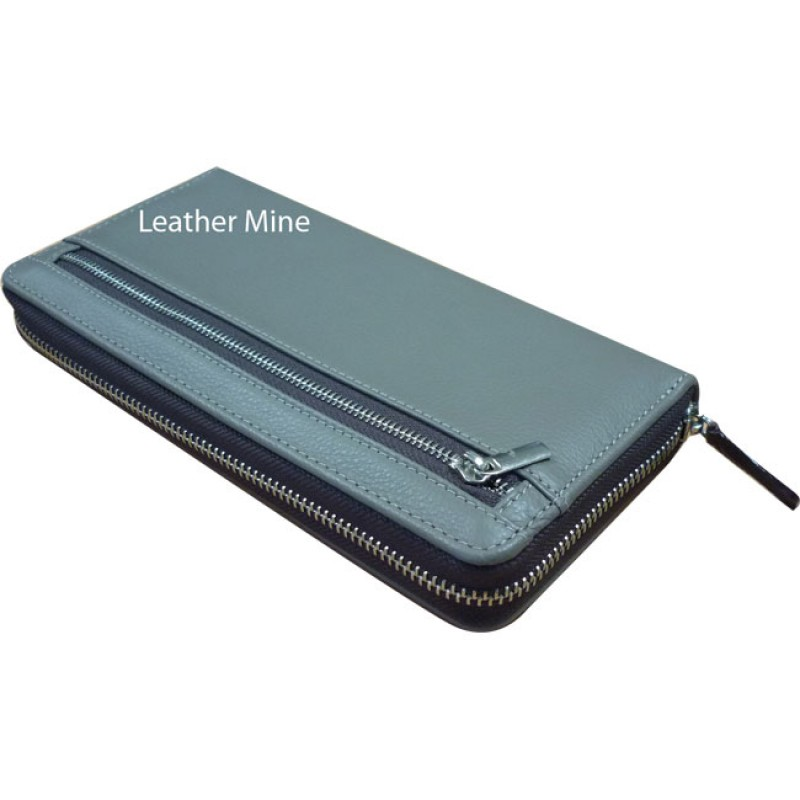 1261/1 long zip wallet
